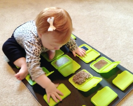Resultado de imagen de paneles sensoriales para niños